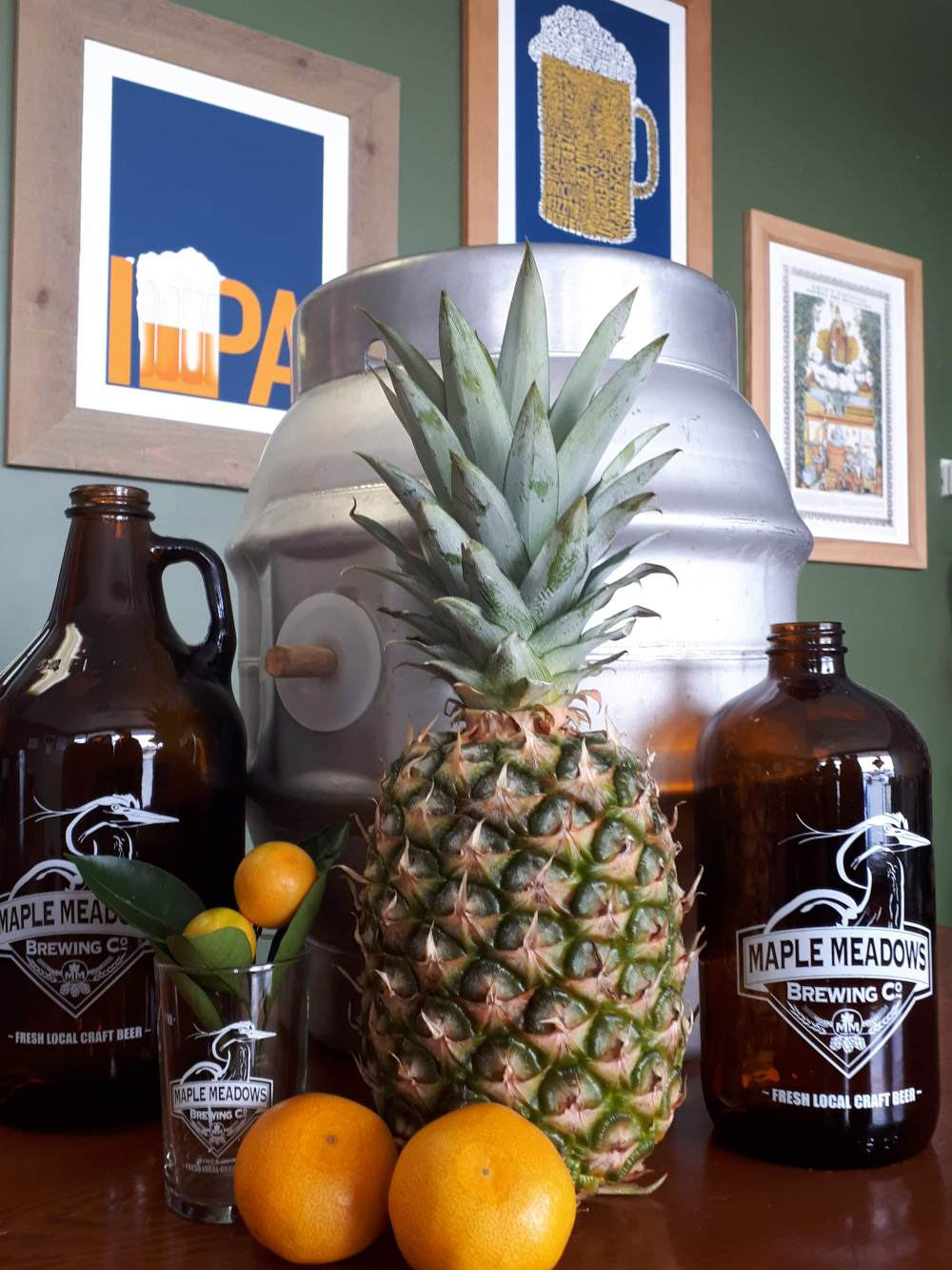 Pineapple-Mandarin-SMaSH IPA Cask Event