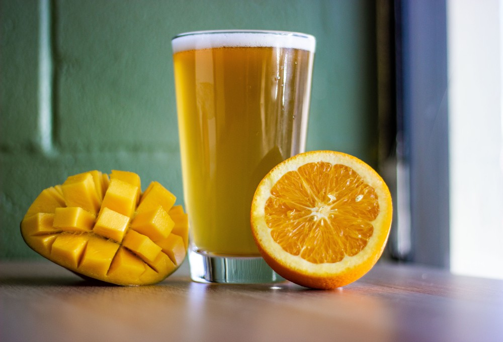 Mango Orange Hefeweizen by Maple Meadows Brewing
