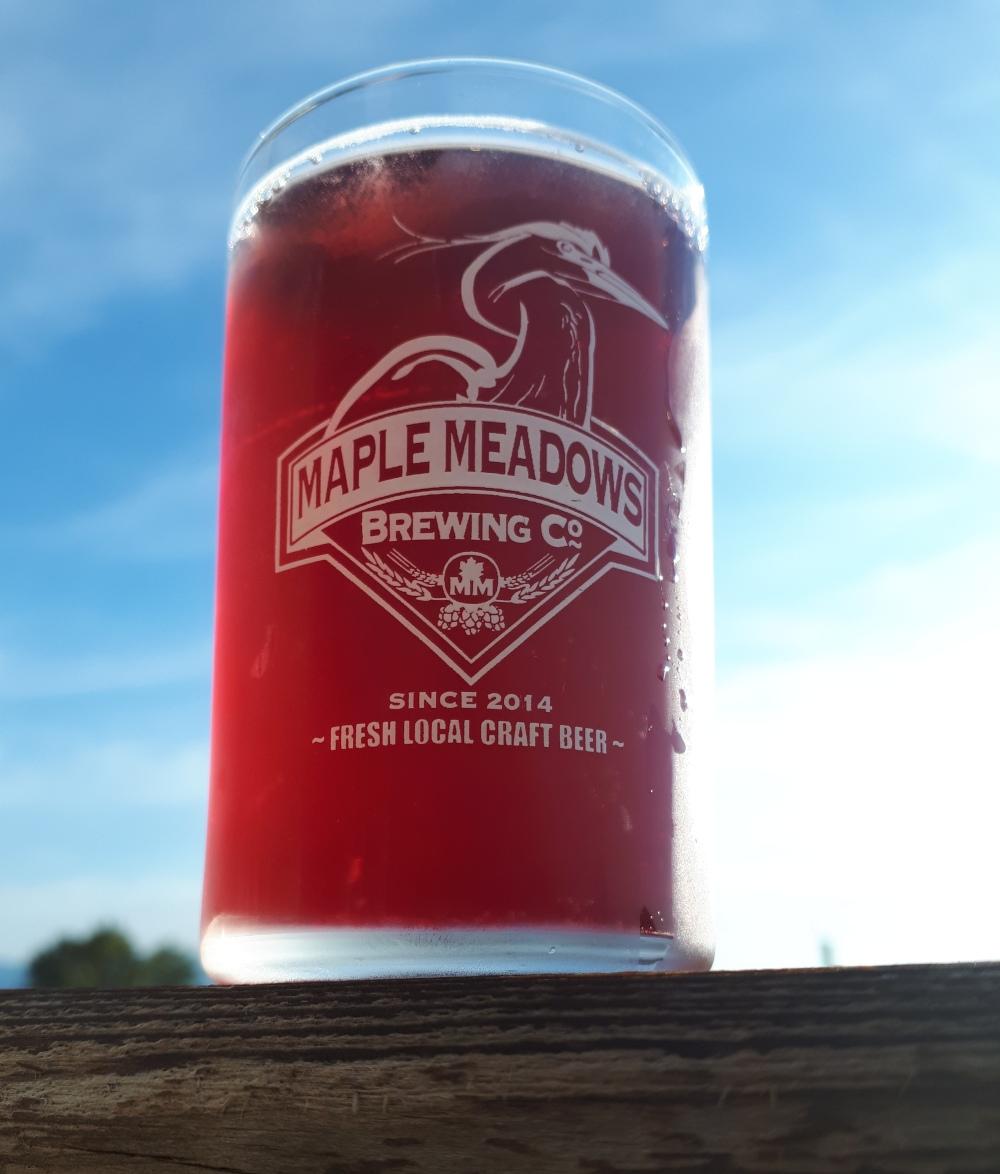 Maple Meadows Brewing - Blueberry Hefeweizen, Craft Beer