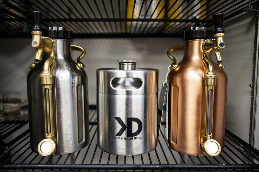 uKegs and Stainless MiniKegs available at Maple Meadows Brewing